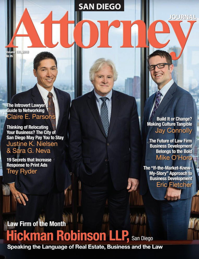 Cover of San Diego Attorney Journal