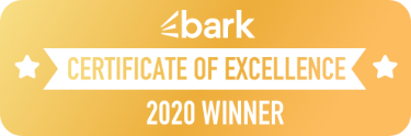 Bark Certificate of Excellence Winner, 2020