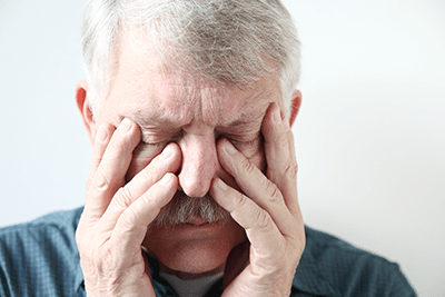 Swelling and sinus drainage can be miserable