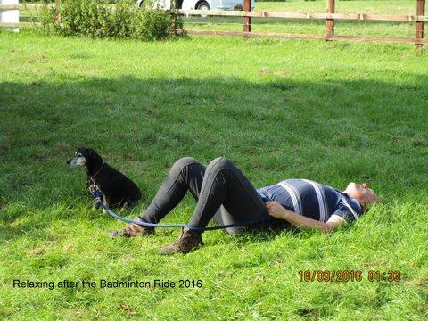 The Badminton Ride - Sleep