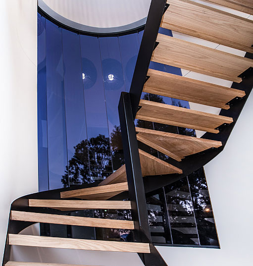 Luxury Wood Staircase