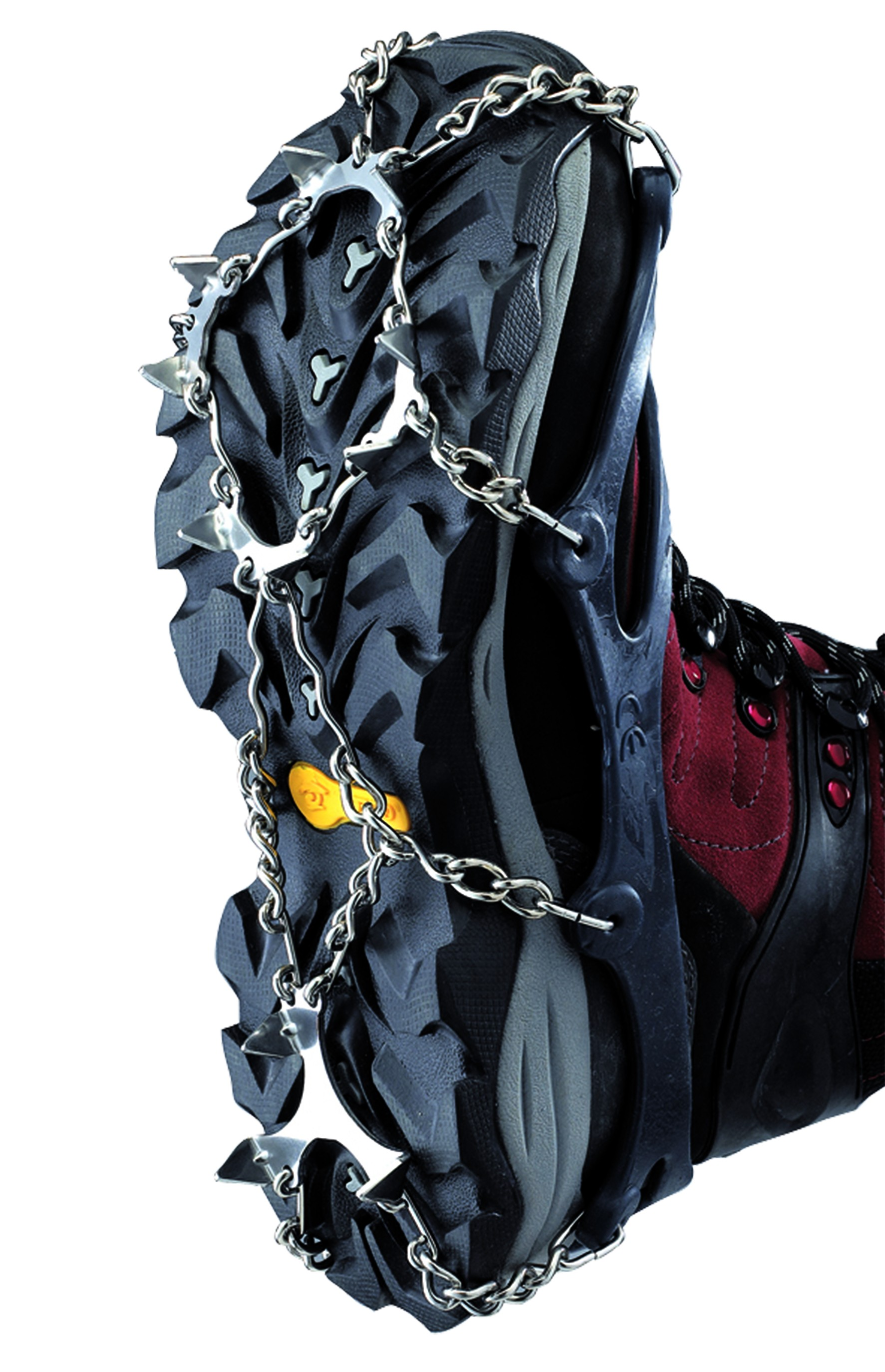 Chain crampons for winter boots