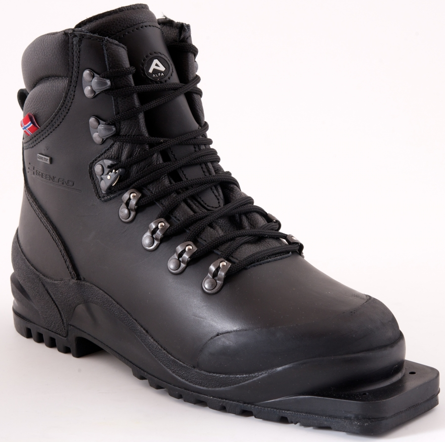 Leather boots - 75mm Telemark binding