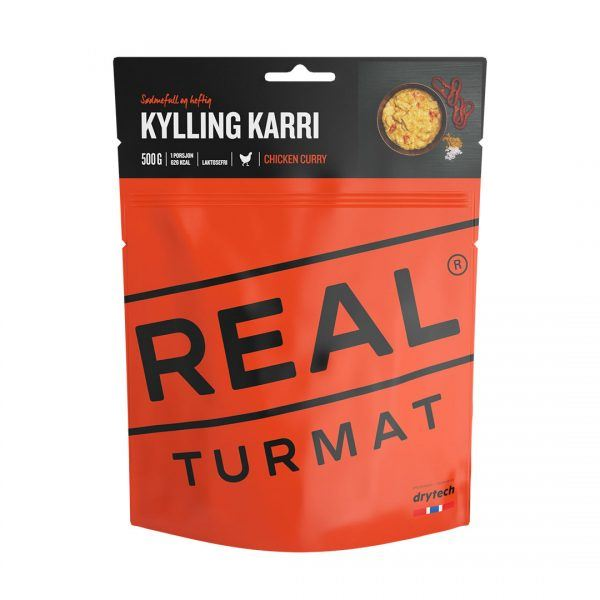 Real turmat - expedition food packs