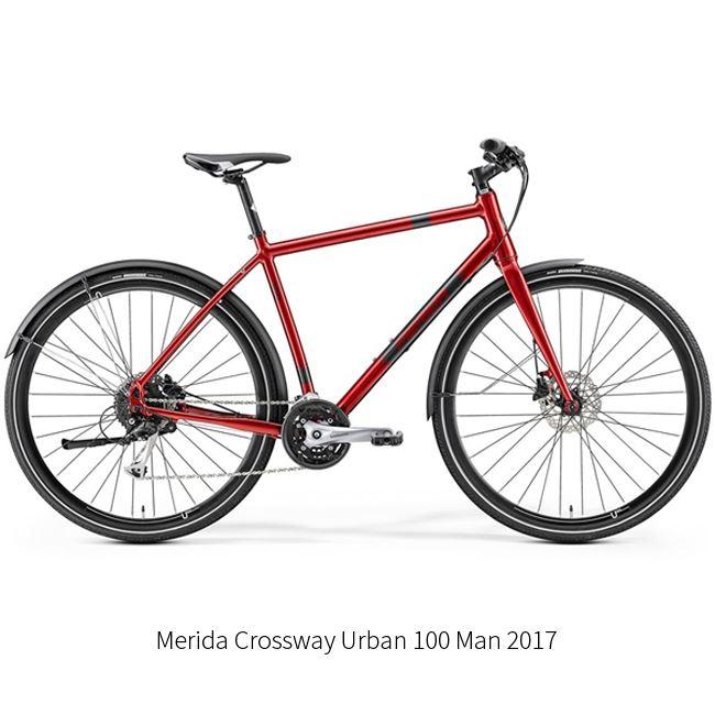 Crossway Urban 100 eller Montezuma - Herre - 48cm