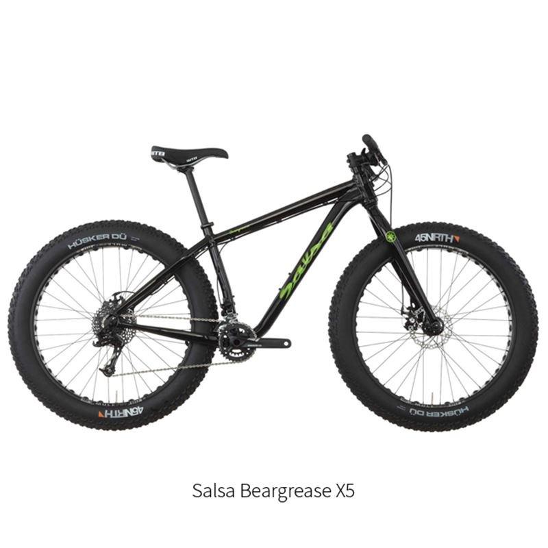 Fatbike Salsa Beargrease X5 size L