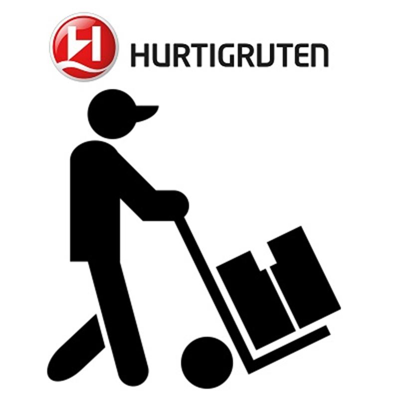 400 NoK an additional fee for bike pick up or return during weekends when the Hurtigruten calls the port during day time