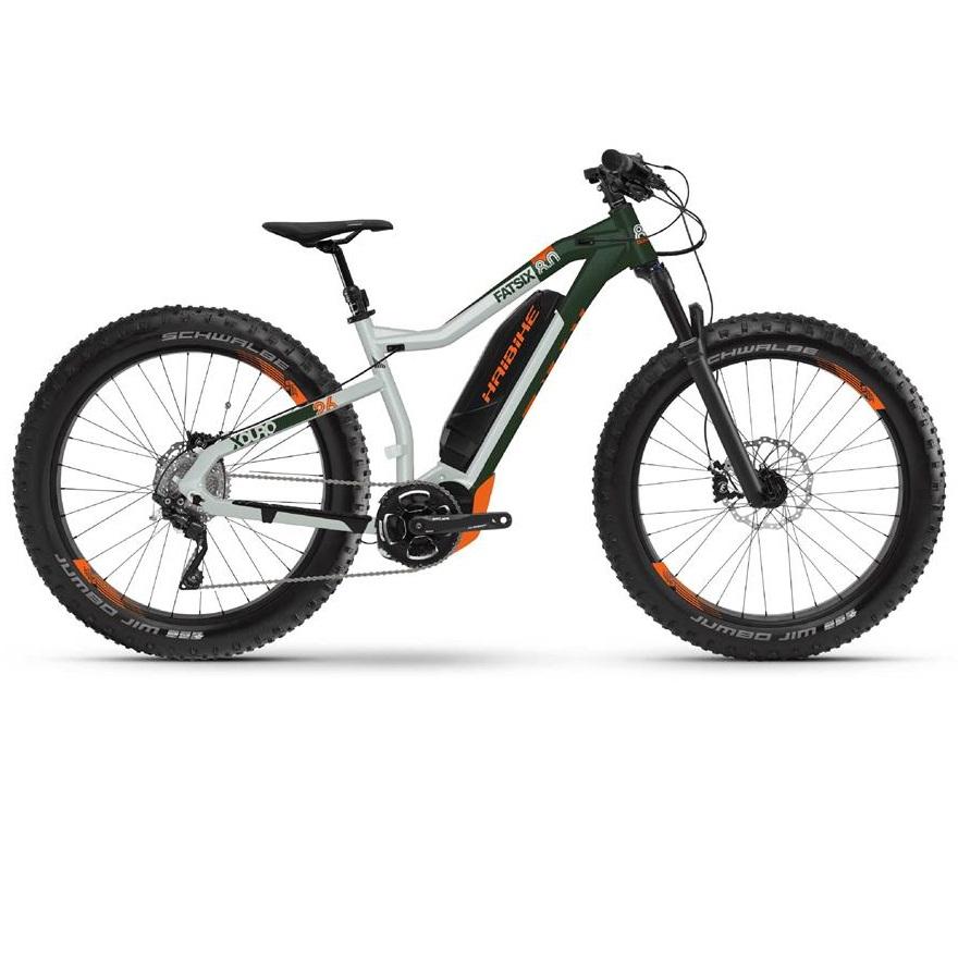 Elektrisk Fatbike Xduro FatSix 8.0 størrelse L