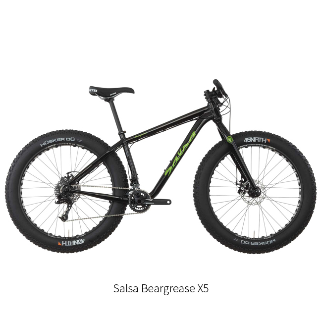 Fatbike Salsa Beargrease X5 størrelse S