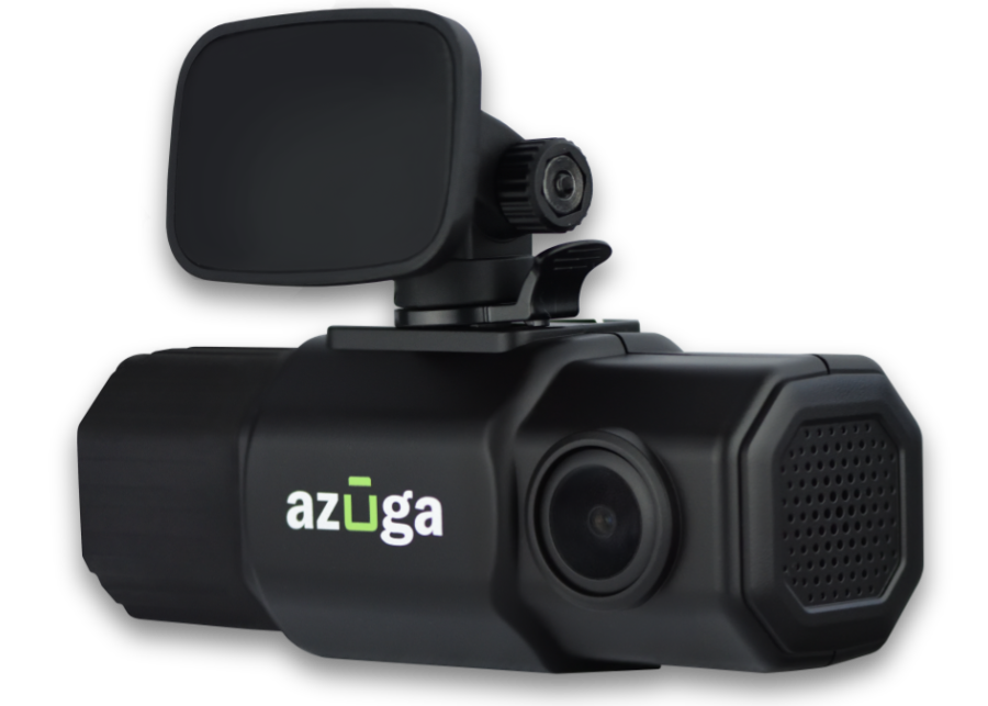 Azuga SafetyCam dash camera for trucks and commercial vehicles