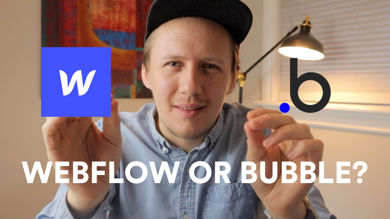 Webflow or Bubble? What is better for No Code Prototypes?