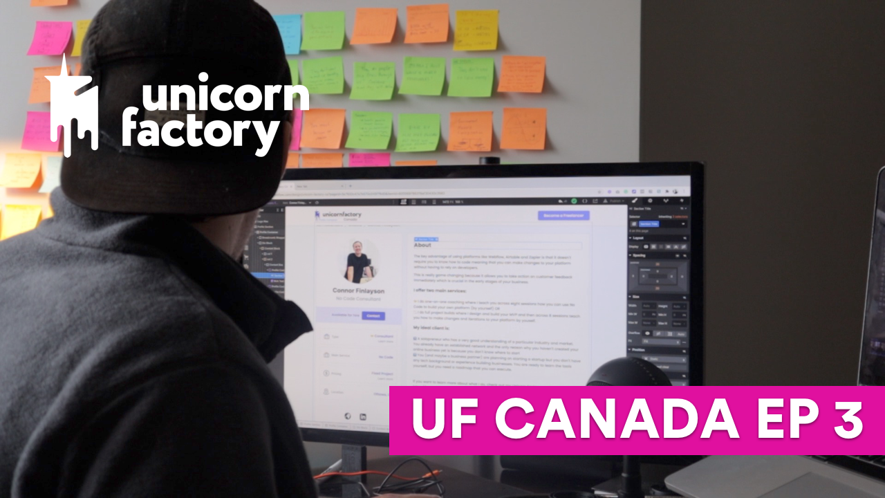 Building the MVP | UF CANADA EP 3