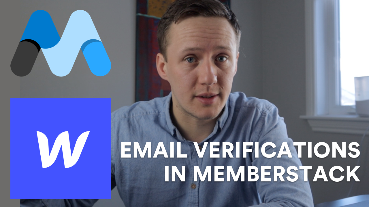 How to build an email verification system for your membership site (Memberstack Tutorial)