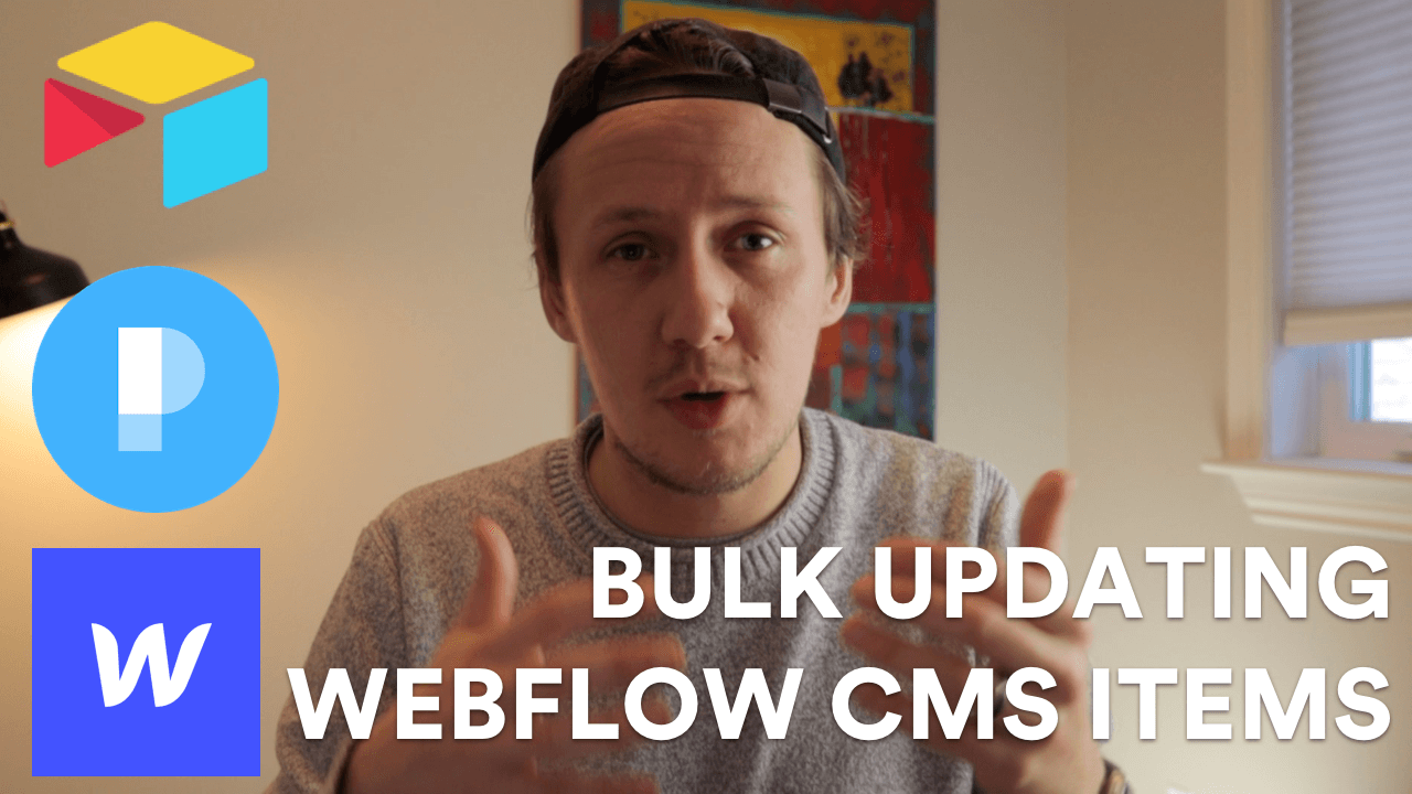 How to bulk update Webflow CMS items with Parabola