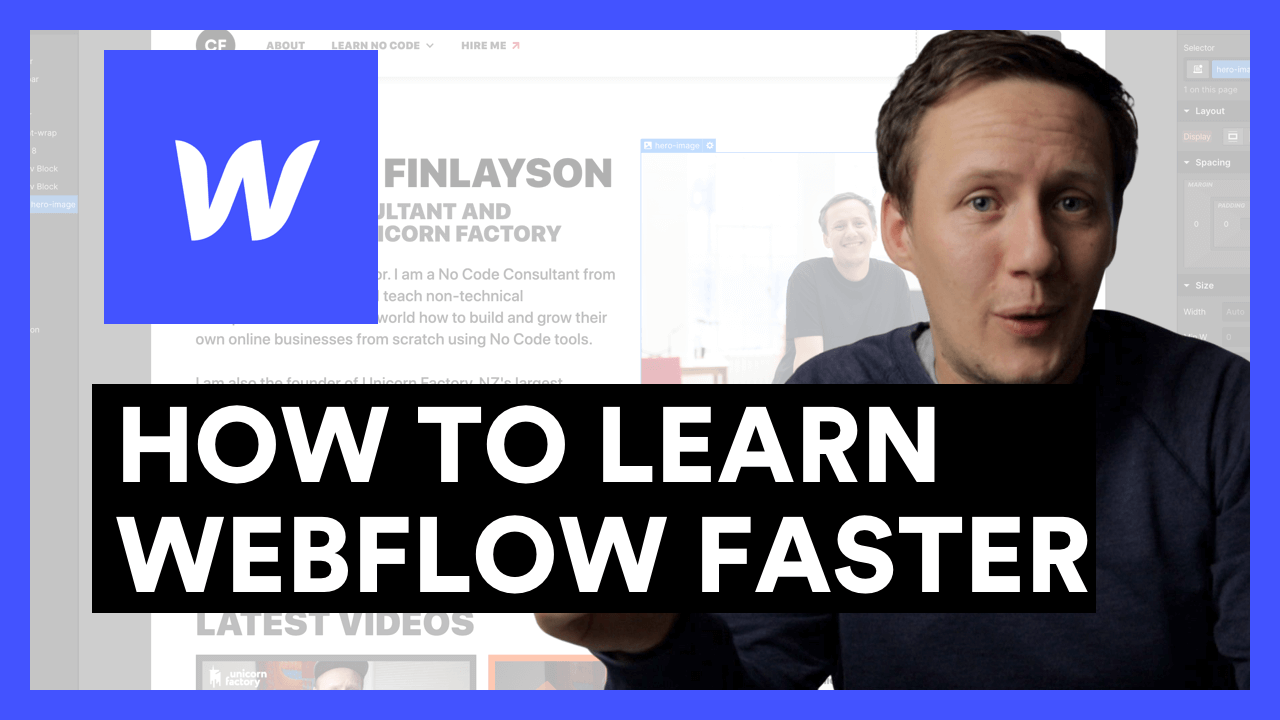 How To Learn Webflow FASTER
