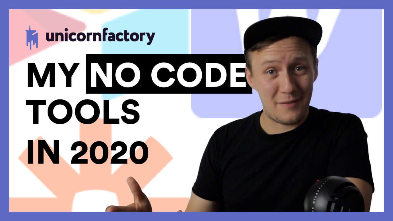 My No Code Tools (2020)