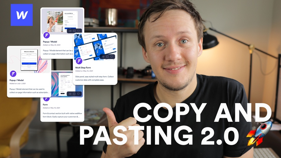 Webflow Copy and Pasting 2.0? Flowbase Component Club Review