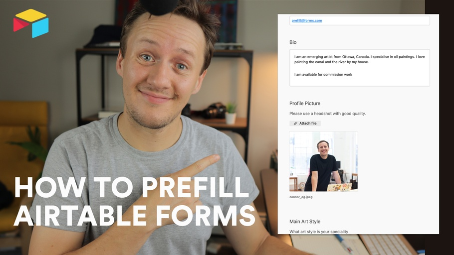 How to prefill Airtable forms | Airtable for Beginners
