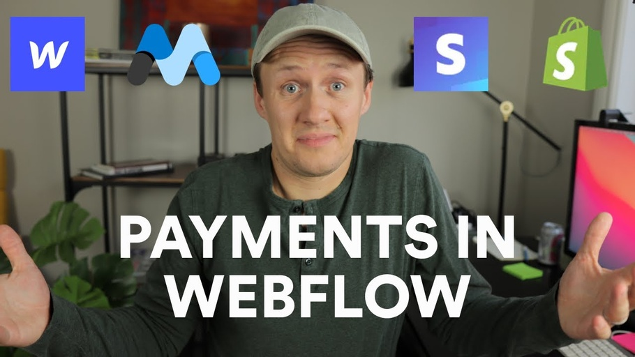 How to process payments in Webflow