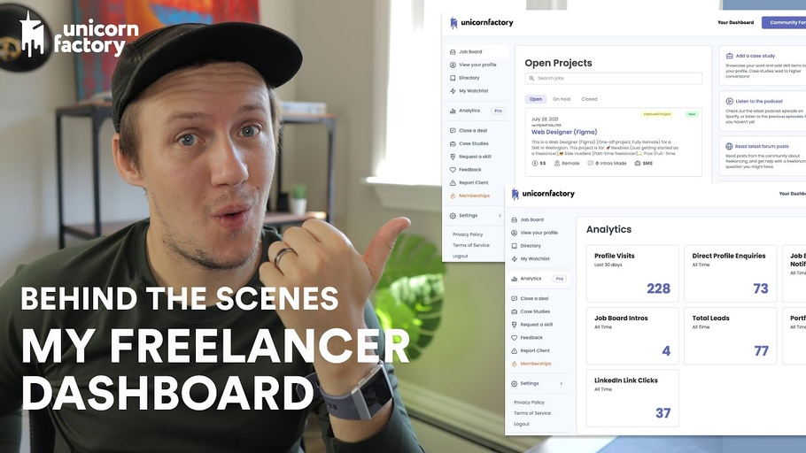 How I built my freelancer portal with Webflow, Memberstack and Parabola