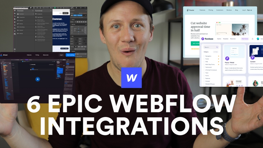 6 MORE TOOLS TO POWER UP WEBFLOW 🚀