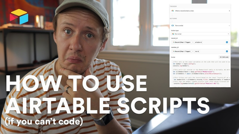 How to write Airtable Scripts (if you can't code)