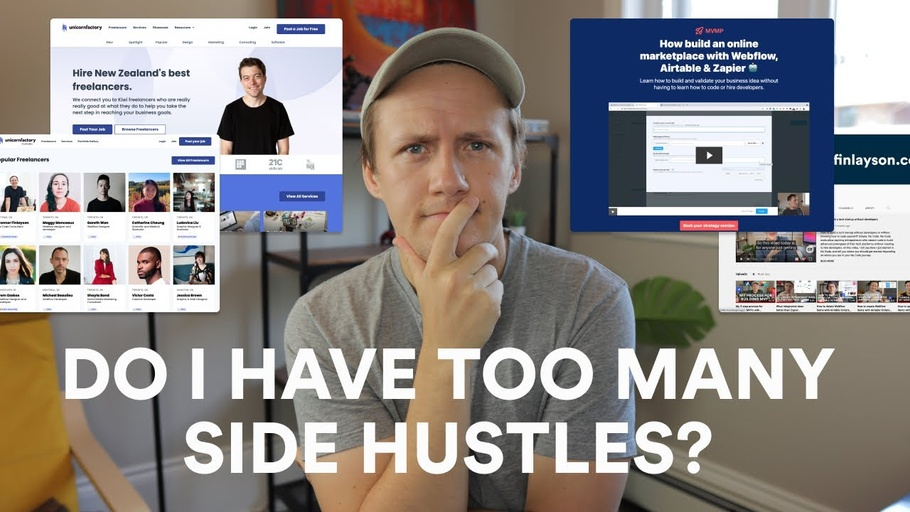 Do I have too many side hustles?
