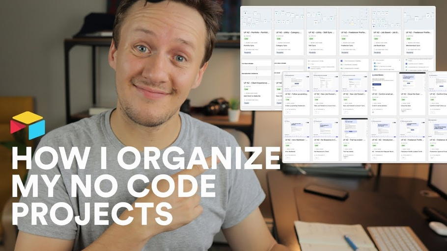 How I organize my no-code projects