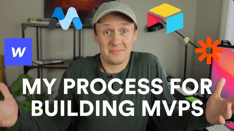 My 5-step process for building MVPs with Webflow, Airtable and Zapier
