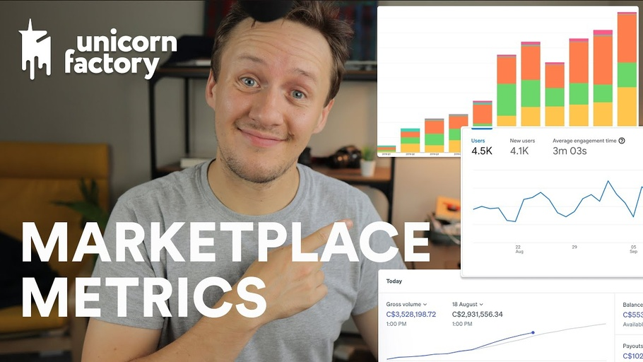 How I measure growth for my freelancer marketplace