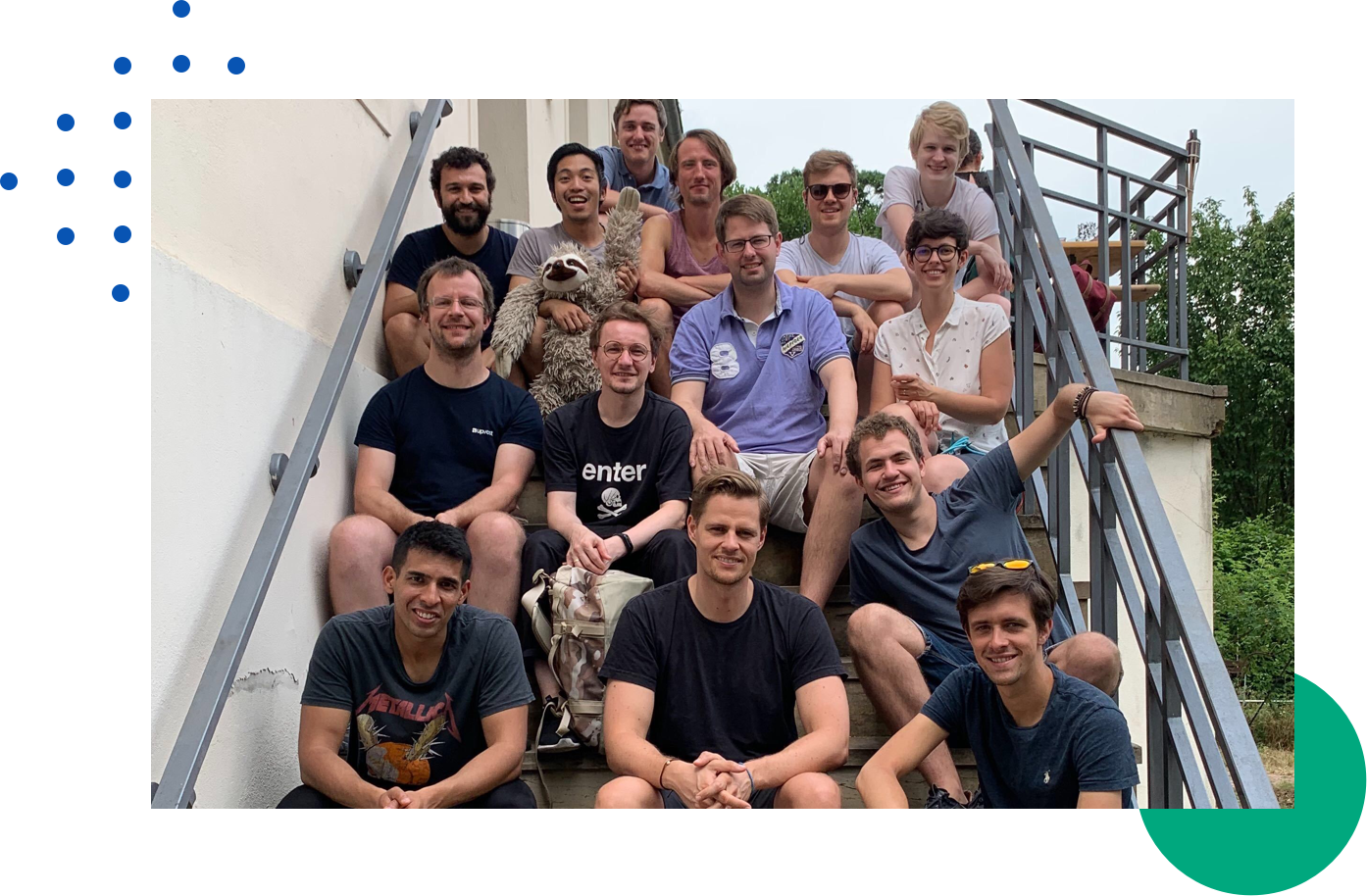 Upvest team picture