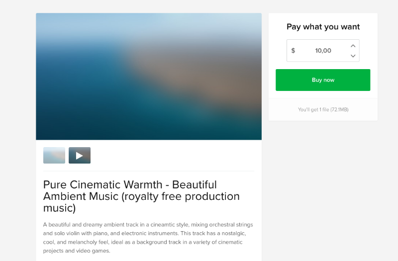 Sell Stock Music | Sellfy