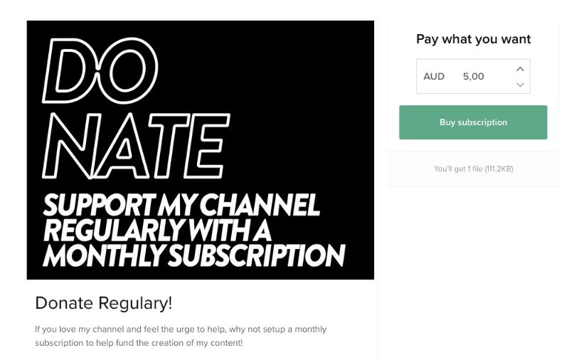 Sell Subscriptions & Memberships | Sellfy