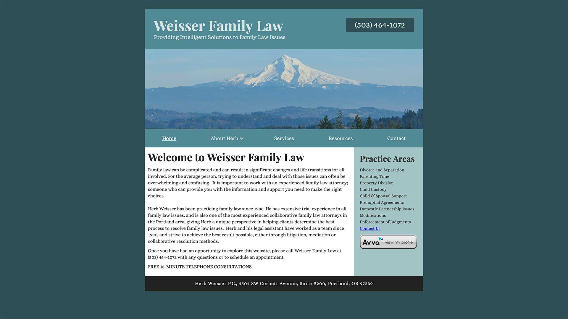 Weisser Family Law