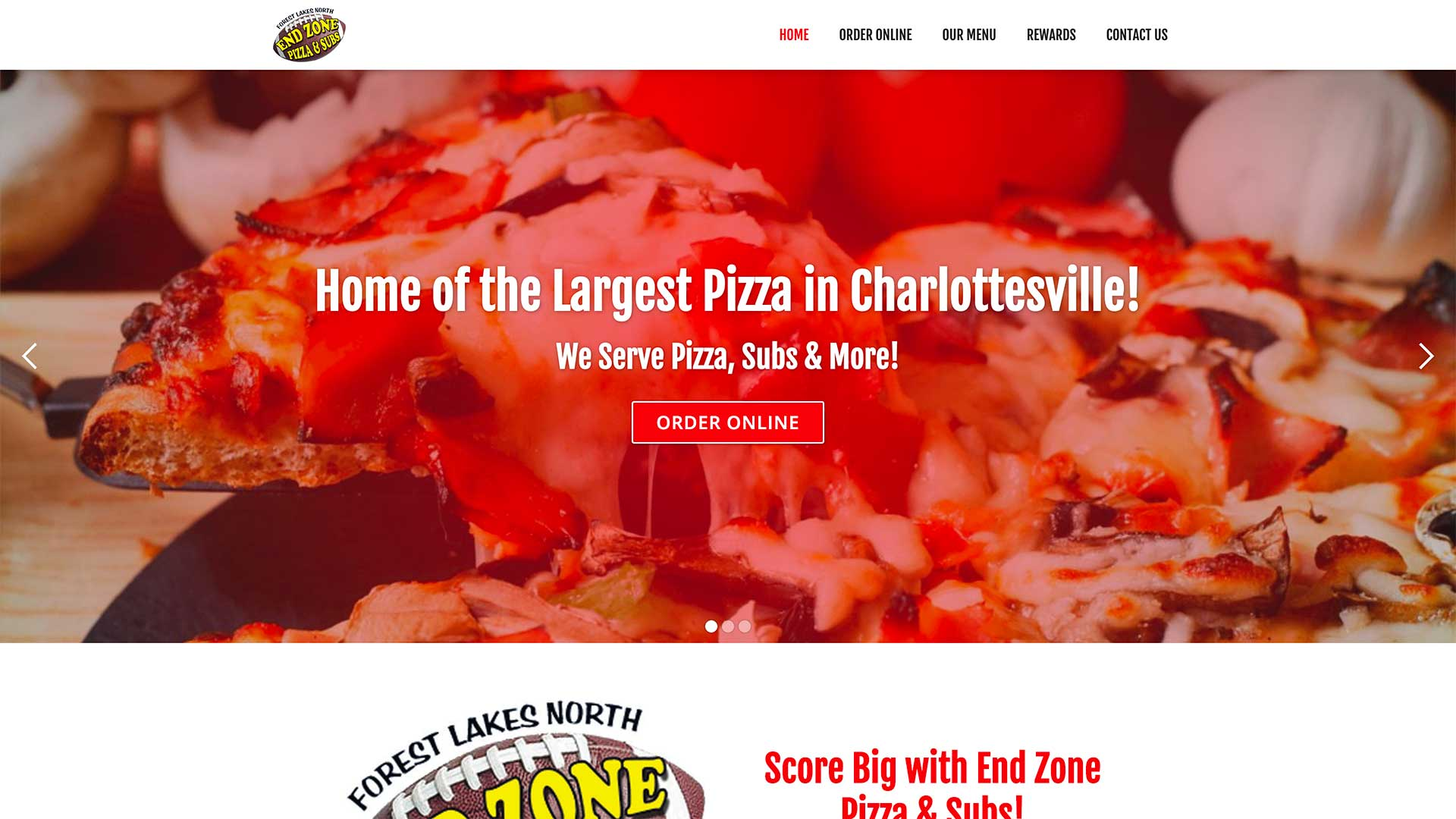 End Zone Pizza & Subs