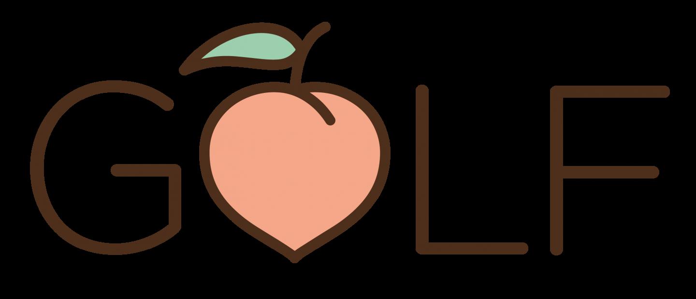 Golf Peach Logo