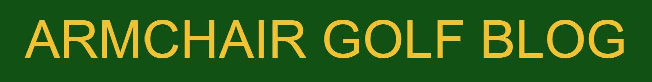 Armchair Golf Blog Logo