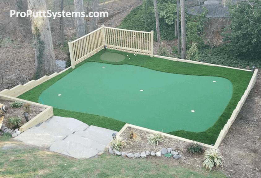 custom pro putt systems putting green