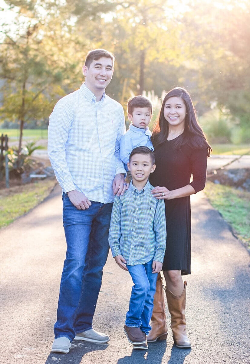 Dr. Troy Babb and family
