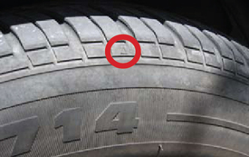 Tread wear indicator