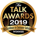 Browns Heating & Air won the 2019 Talk Awards for Excellence in Customer Satisfaction