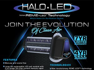 HALO whole home purification system