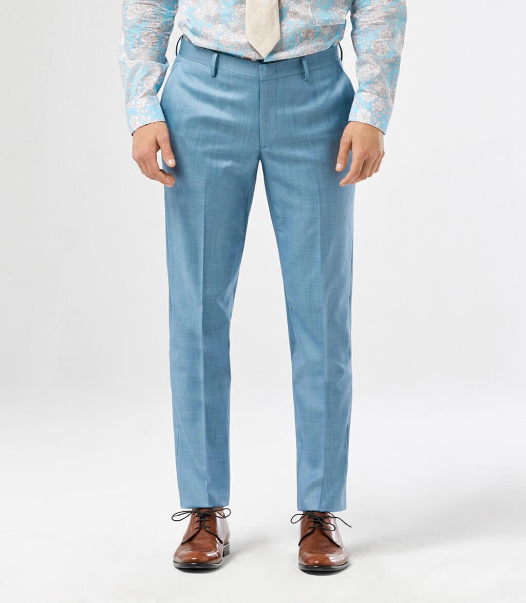 Seafoam Slim Suit Pant, CALIBRE