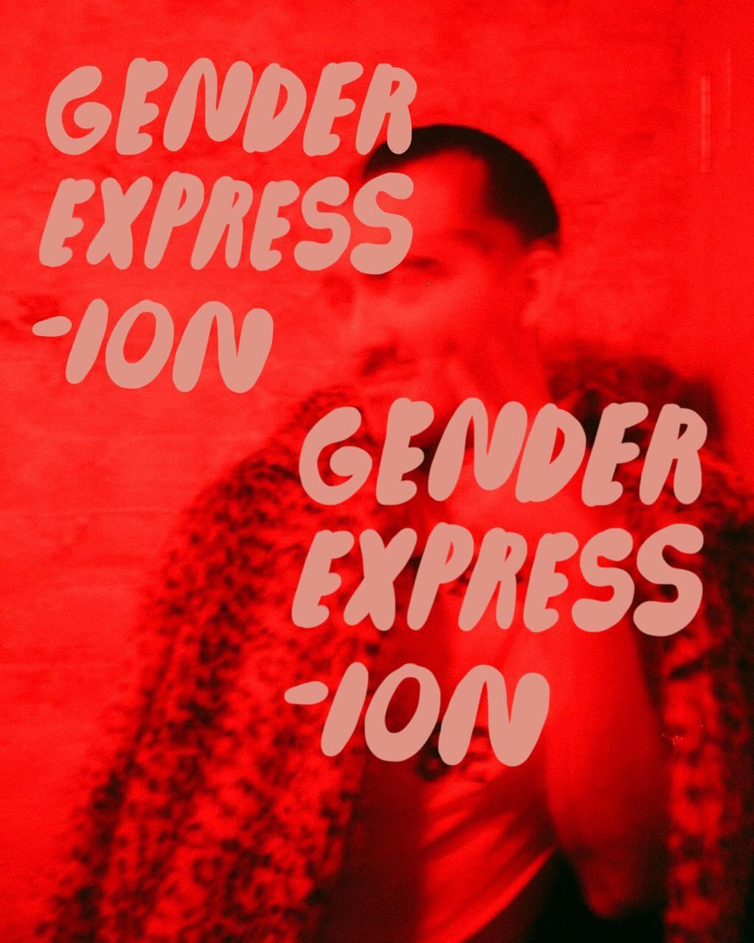 Gender expression poster