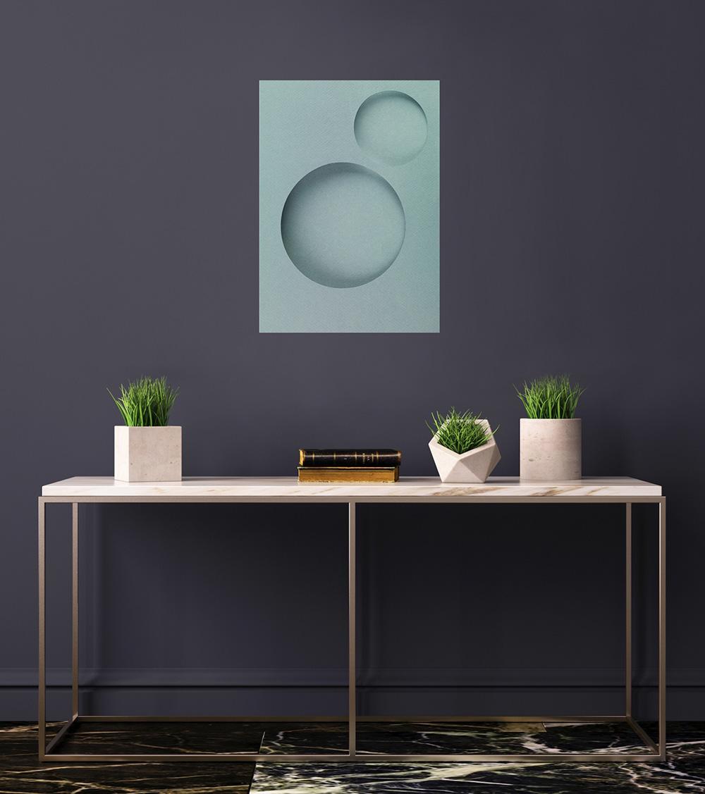 May Lin Le Goff - Two Circles - Medium