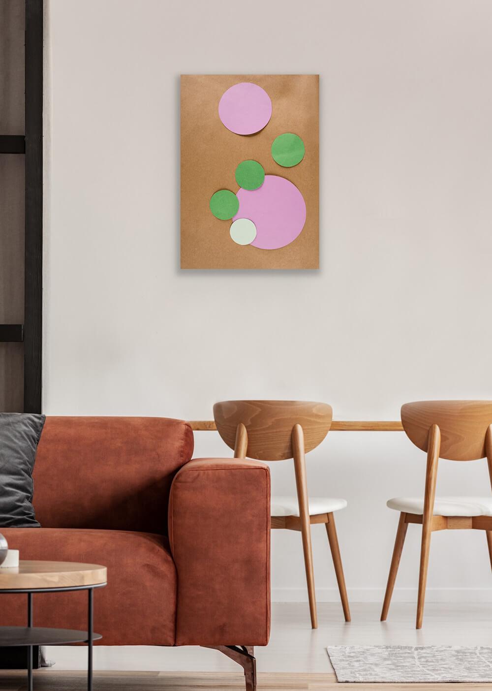 May Lin Le Goff - Untitled (Circles) - Medium