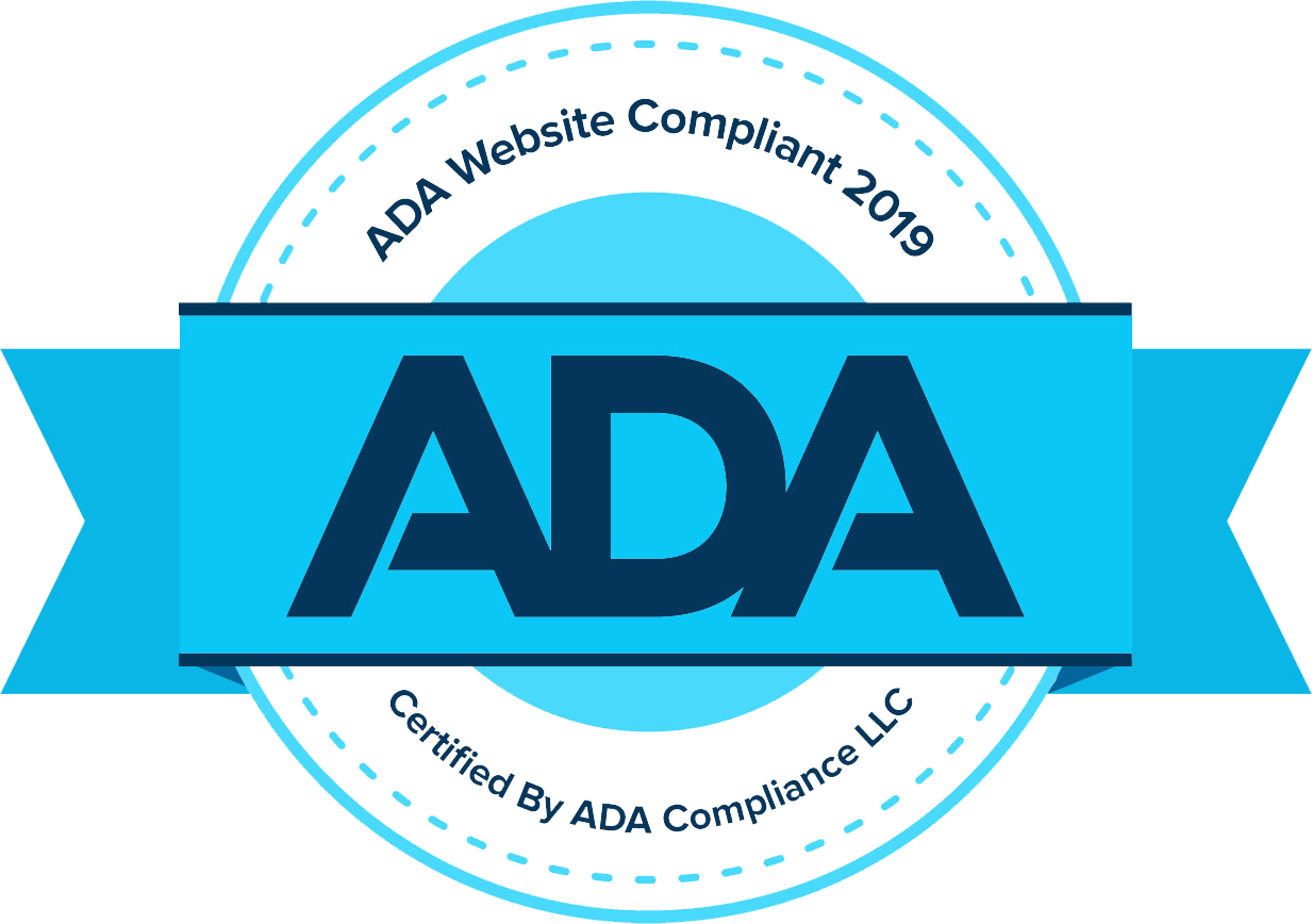 Ada compliance badge for 2019