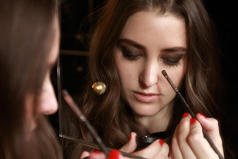 glittery smokey eyes, smokey eyes, how to, tutorial, glitter, fw16 trends, my philosophie, my secrets, beauty, fashion blogger, mac cosmetics,