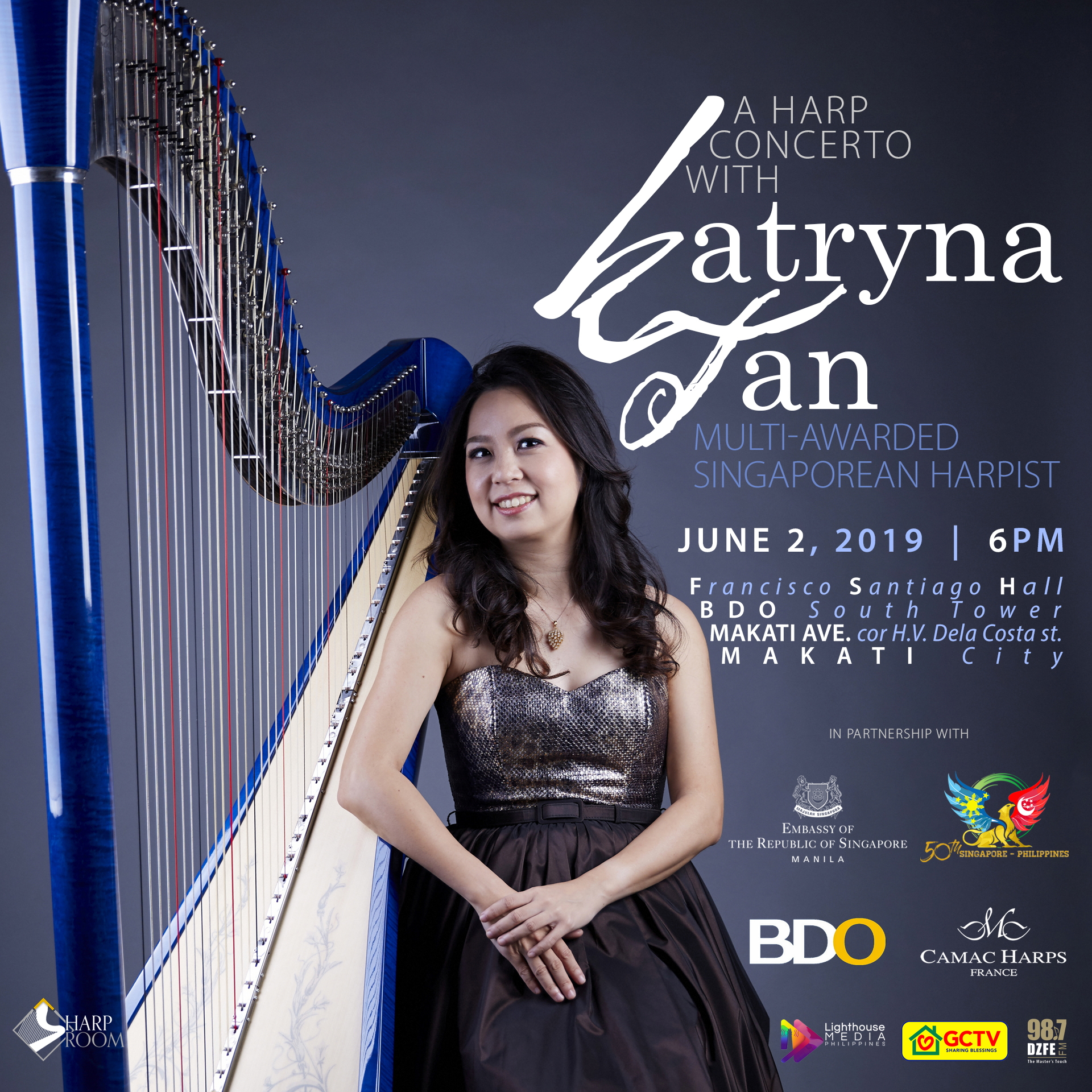 A Harp Concerto with Katryna Tan