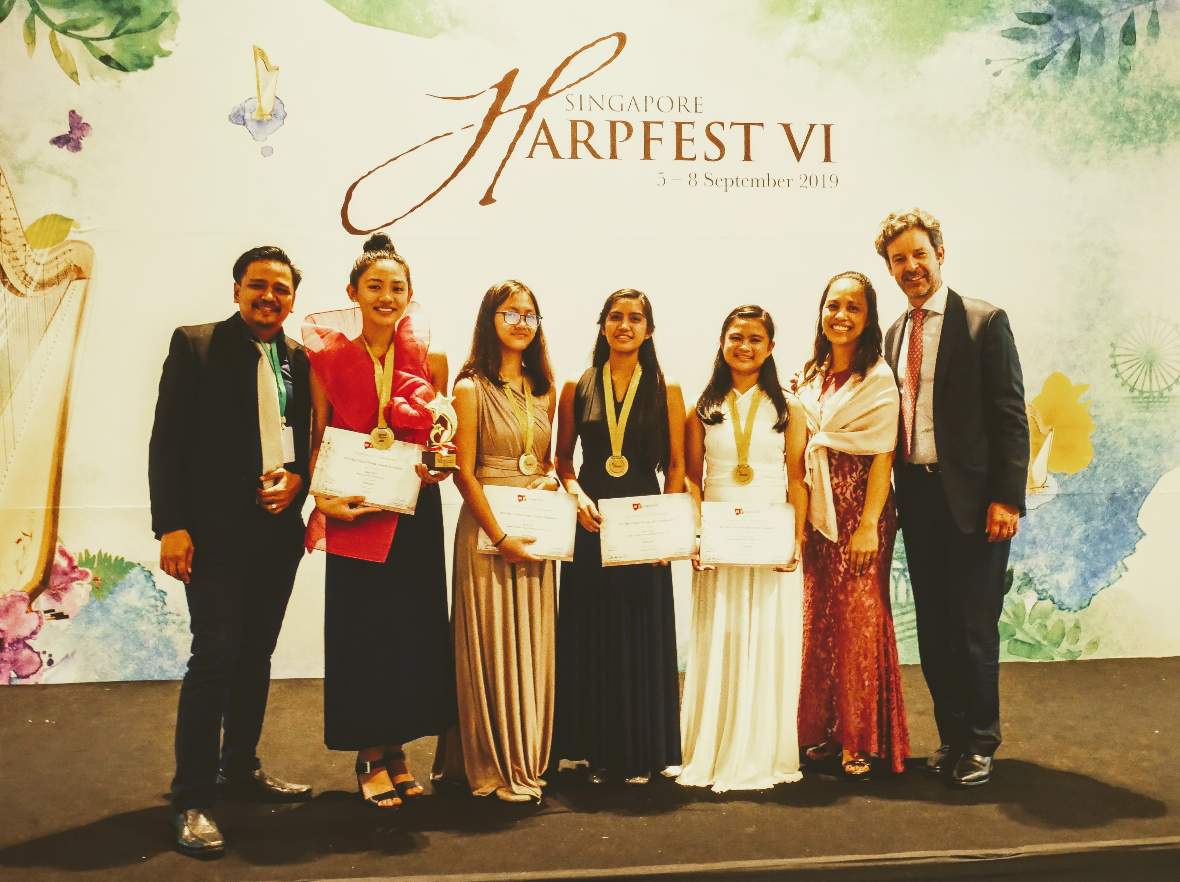 Philippine Harpists Awarded at the 6th Singapore Harpfest